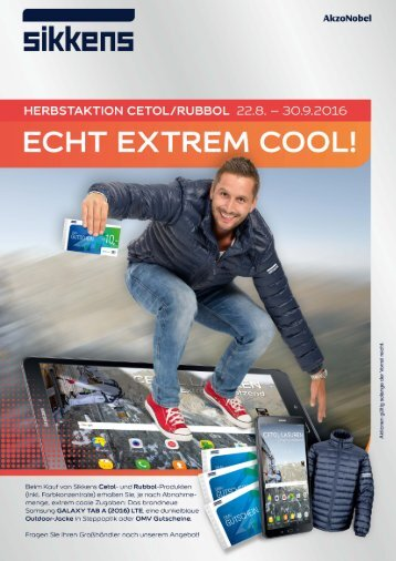 SIKKENS Herbstaktion – ECHT EXTREM COOL!