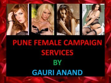 Attractive Female escorts Services at Pune