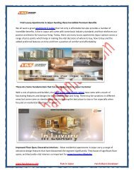 Find Luxury Apartments in Jaipur Availing these Incredible Premium Benefits