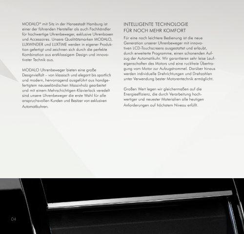 MODALO Katalog Catalogue 2016