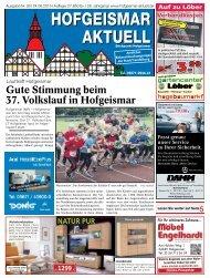 Hofgeismar Aktuell 2015 KW 26