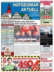 Hofgeismar Aktuell 2015 KW 32