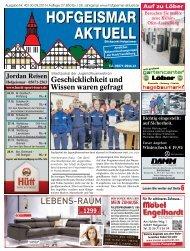 Hofgeismar Aktuell 2015 KW 40
