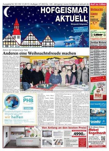 Hofgeismar Aktuell 2015 KW 50