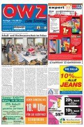OWZ zum Sonntag 2015 KW 34