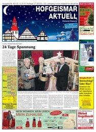 Hofgeismar Aktuell 2015 KW 49