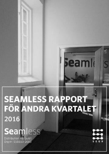 Rapport för andra kvartalet 2016