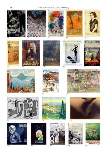 66 Harteveld Rare Books Ltd., CH-1700 Fribourg