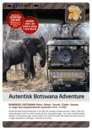 Autentisk Botswana Adventure