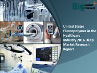 United States Fluoropolymer in the Healthcare Industry2016 Trends & Forecast