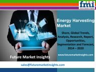 Energy Harvesting Market Forecast and Segments, 2014-2020