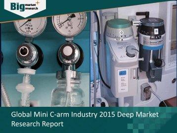 Global Mini C-arm Industry Deep Market Research Report