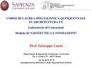 palo - Ingegneria Strutturale e Geotecnica