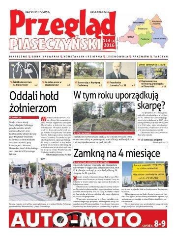 Przegląd Piaseczyński, Wydanie 114