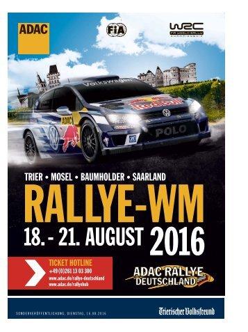 ADAC - Rallye-WM 2016