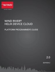 WIND RIVER HELIX DEVICE CLOUD 2.0