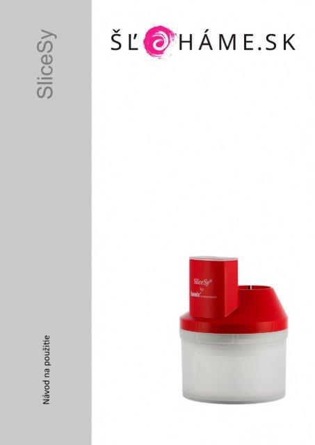 Bamix - SliceSy červený (SK)