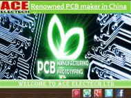 Get renowned PCB maker in China