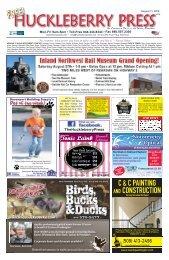 Huckleberry Press 081116