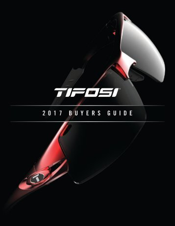 Tifosi Optics 2017 Catalog
