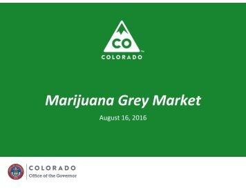 Marijuana Grey Market
