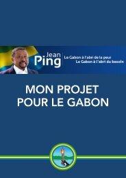 MON PROJET POUR LE GABON