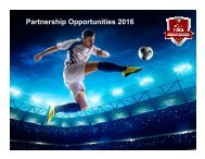 2016 LIKA Supergroup Corporate Partnerships