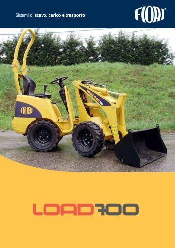 Sistemi di scavo, carico e trasporto - Fiori Group SpA