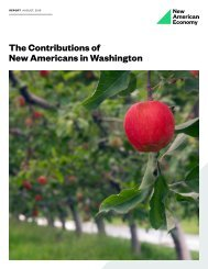 The Contributions of New Americans in Washington