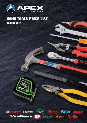ATG Hand Tools Catalogue 2016