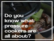 Small Pressure Cookers: Here Find Something Special!