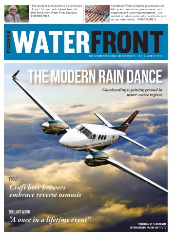 Waterfront #2 2016: The modern rain dance