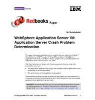 Application Server Crash Problem Determination - IBM Redbooks