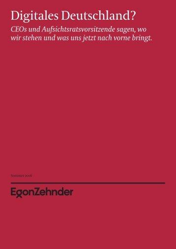 Digitales Deutschland?