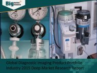 Global Diagnostic Imaging Product Portfolio Industry 2015 Deep Market Research Report