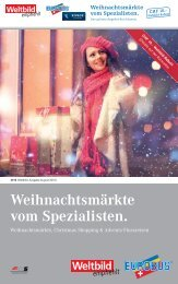 Eurobus-Beilage Weltbild