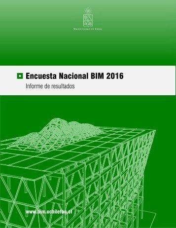 Encuesta Nacional BIM 2016