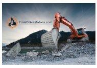 Excavator Final Drive Motors