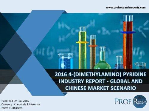 2016 4-(DIMETHYLAMINO) PYRIDINE INDUSTRY REPORT - GLOBAL AND CHINESE MARKET SCENARIO