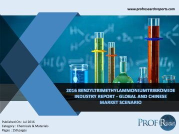 Benzyltrimethylammoniumtribromide Industry, 2011-2021