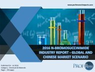 2016 N-BROMOSUCCINIMIDE INDUSTRY REPORT - GLOBAL AND CHINESE MARKET SCENARIO
