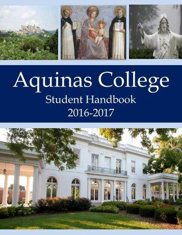 2016-17 Student Hanbook Final