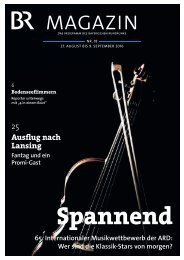 BR-Magazin 18/2016