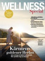 WELLNESS Magazin Special - Herbst 2016