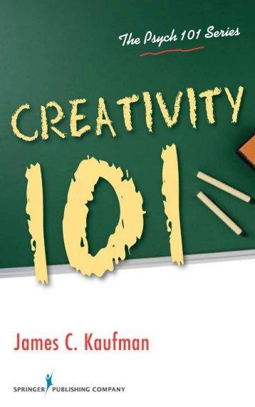 Creativity 101 Chapter 1