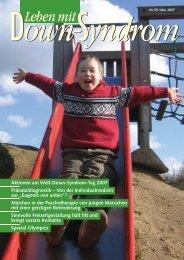 Nr. 55, Mai - Deutsches Down-Syndrom InfoCenter