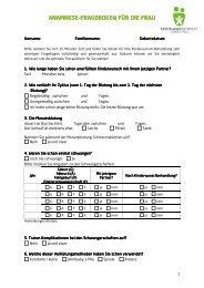 2_Anamnese Frau.pdf - Kinderwunschzentrum