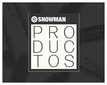 catálogo Snowman 2016