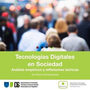 Tecnologías Digitales en Sociedad