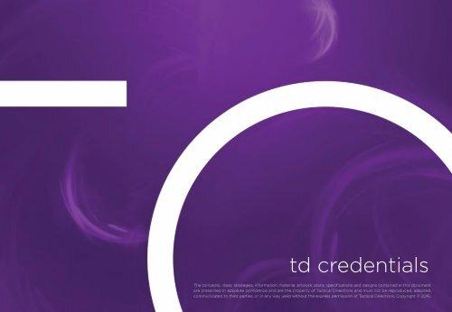 TD Credentials_PowerPoint